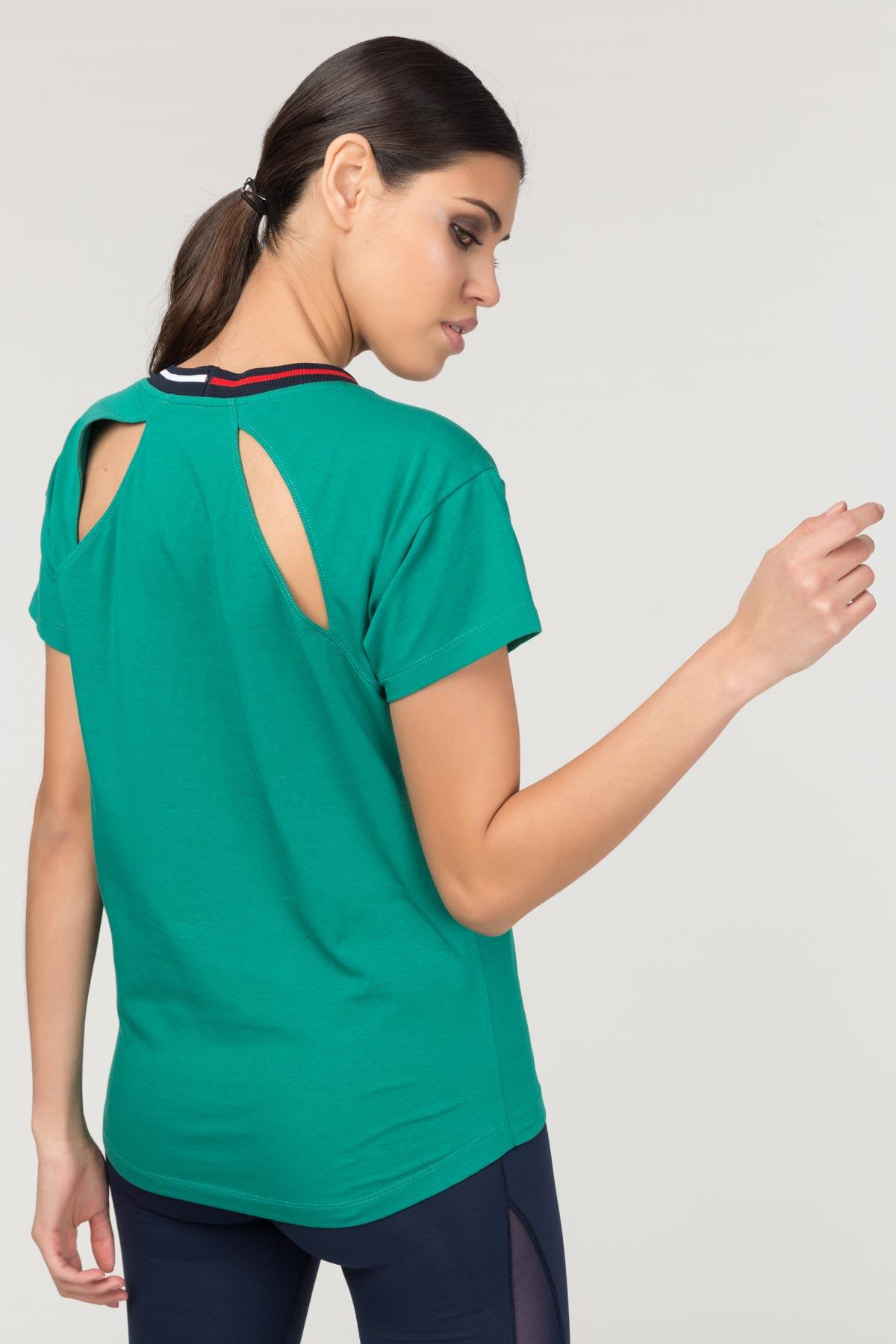 Bilcee Kadın Sırt Detaylı T-Shirt FS-1120 BİLCEE