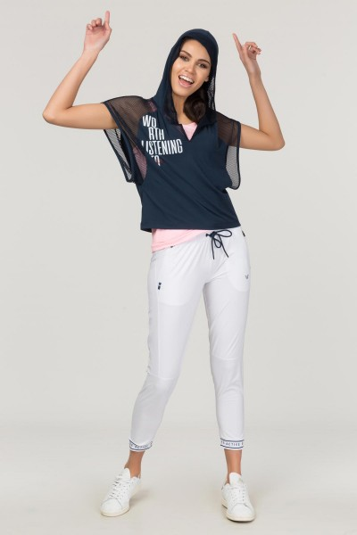 BİLCEE - Bilcee Lacivert Kadın Antrenman T-Shirt FS-1121 (1)