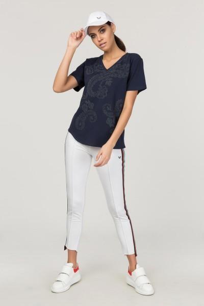 BİLCEE - Bilcee Likralı Pamuklu Kadın T-Shirt FS-1122 (1)