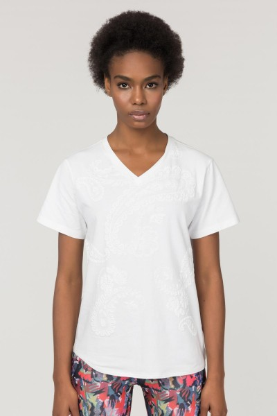 BİLCEE - Bilcee Likralı Pamuklu Kadın T-Shirt FS-1122