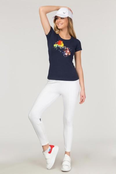 BİLCEE - Bilcee Likralı Pamuklu Kadın T-Shirt FS-1140 (1)