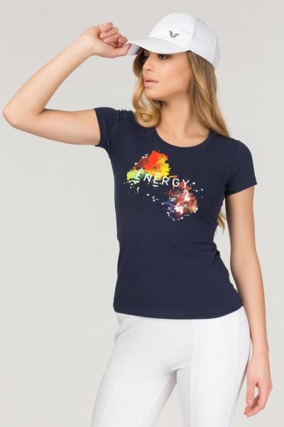 BİLCEE - Bilcee Likralı Pamuklu Kadın T-Shirt FS-1140