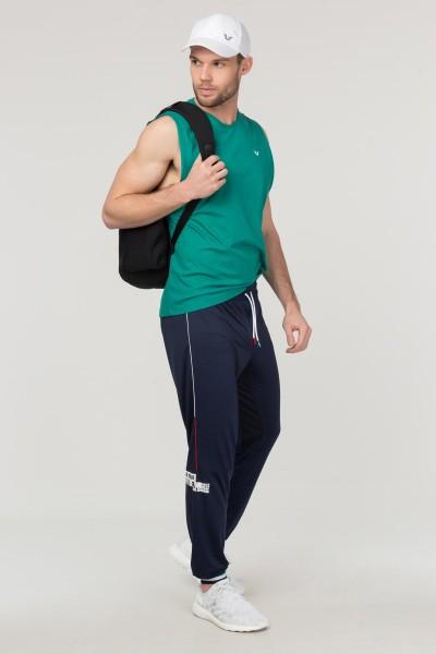 BİLCEE - Bilcee Mavi Pamuklu Erkek Atlet FS-1622 (1)