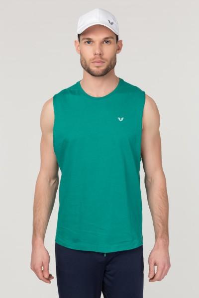 BİLCEE - Bilcee Yeşil Pamuklu Erkek Atlet FS-1622