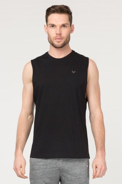 BİLCEE - Bilcee Siyah Pamuklu Erkek Atlet FS-1622