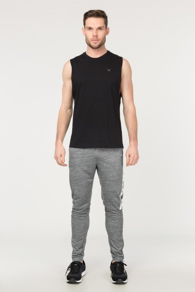 BİLCEE - Bilcee Siyah Pamuklu Erkek Atlet FS-1622 (1)