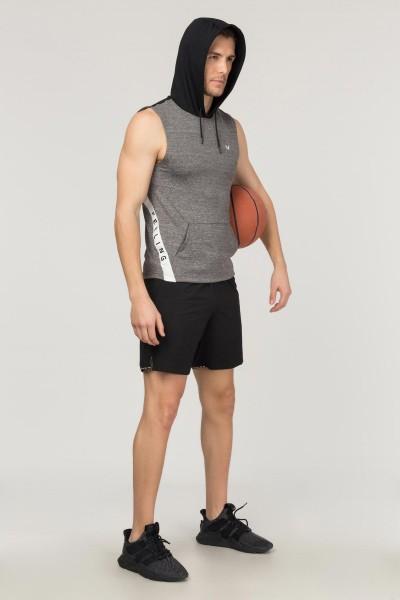 BİLCEE - Bilcee Gri Erkek Antrenman Atlet FS-1641 (1)