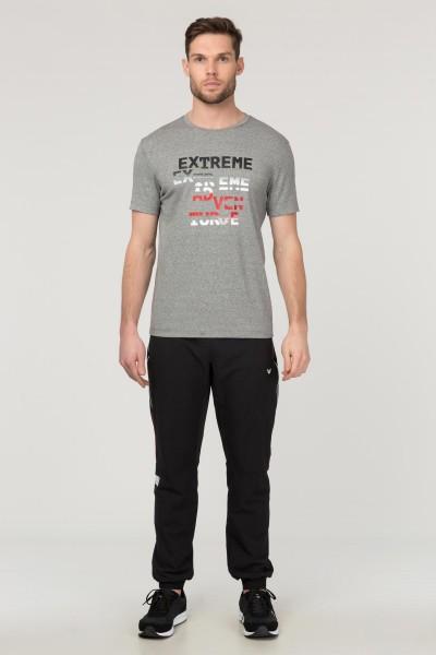 BİLCEE - Bilcee Gri Erkek T-Shirt FS-1674 (1)