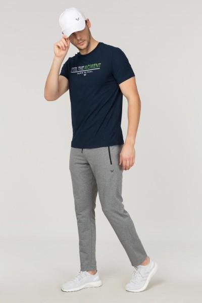 BİLCEE - Bilcee Lacivert Erkek Antrenman T-Shirt FS-1675 (1)