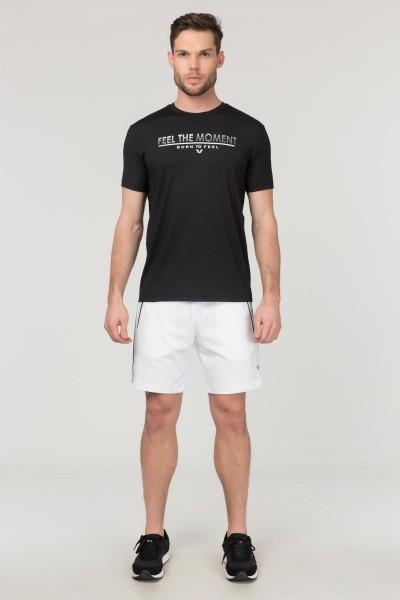 BİLCEE - Bilcee Siyah Erkek Antrenman T-Shirt FS-1675 (1)
