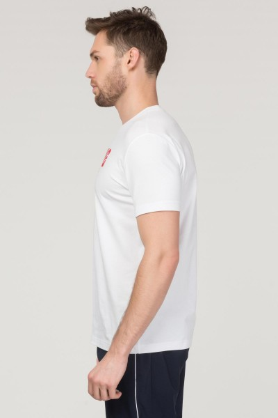 BİLCEE - Bilcee Beyaz Pamuklu Erkek T-Shirt FS-1681 (1)