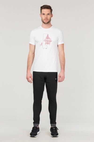BİLCEE - Bilcee Beyaz Pamuklu Erkek T-Shirt FS-1682 (1)
