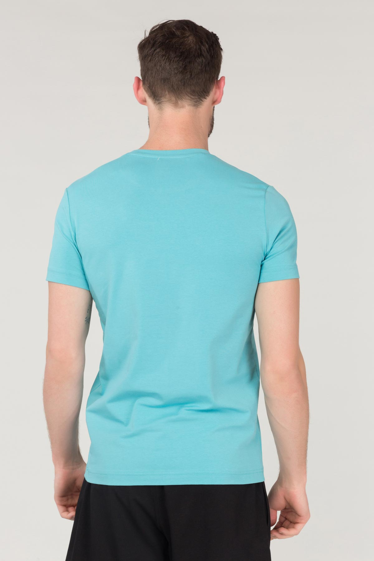Bilcee Erkek Pamuklu T-Shirt FS-1682