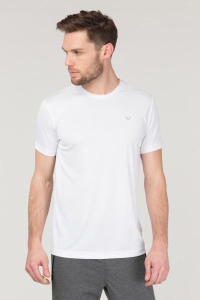 BİLCEE - Bilcee Beyaz Antrenman Erkek T-Shirt FS-1683