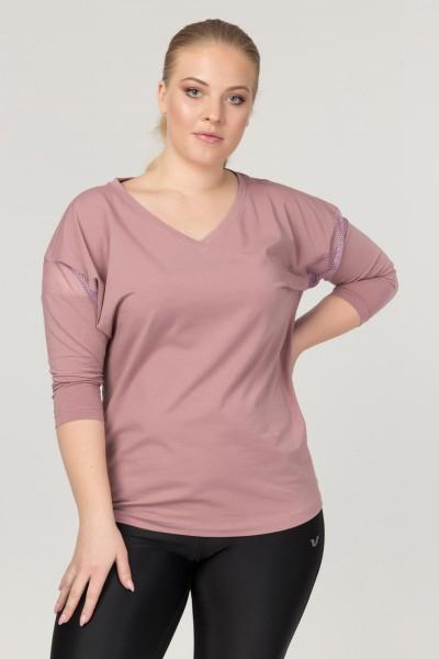BİLCEE - Bilcee Büyük Beden Kadın Antrenman T-Shirt FS-1769
