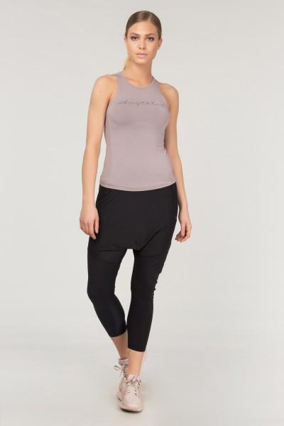 BİLCEE - Bilcee Siyah Yoga Kadın Şalvarı FS-1772 (1)