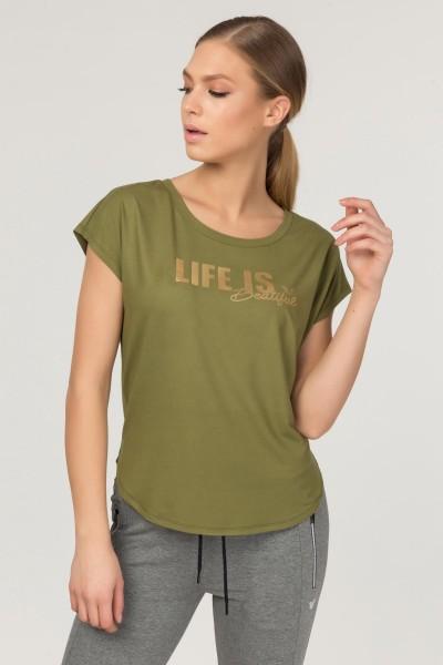 BİLCEE - Bilcee Kadın Antrenman T-Shirt FS-3610