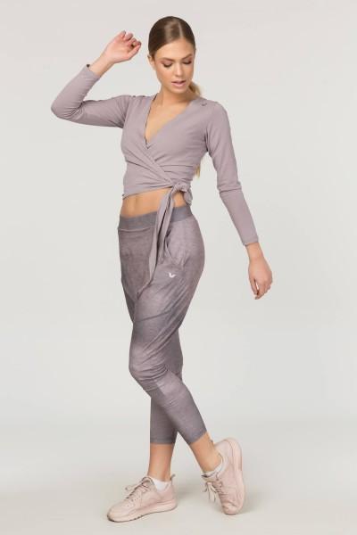 BİLCEE - Bilcee Lila Likralı Pamuk Kadın Ceket FS-4014 (1)
