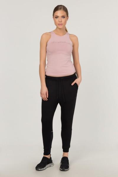 BİLCEE - Bilcee Pembe Pamuklu Yoga Kadın Atleti FS-4018 (1)