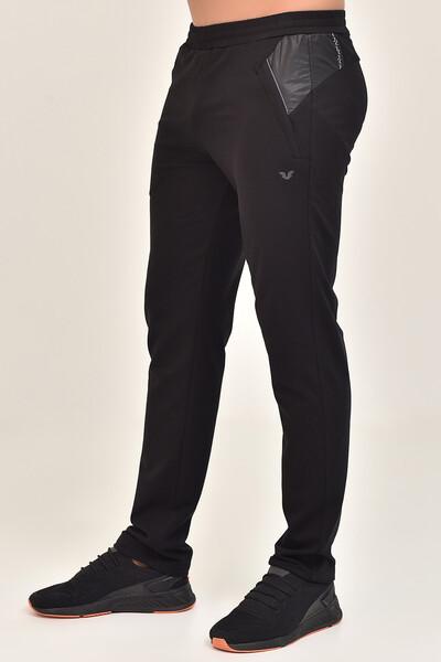 BİLCEE - Bilcee Siyah Erkek Pamuk/Poly Eşofman Altı DS-7505