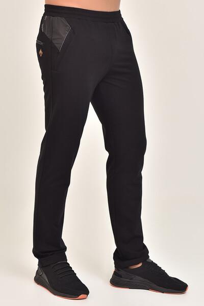 BİLCEE - Bilcee Siyah Erkek Pamuk/Poly Eşofman Altı DS-7505 (1)