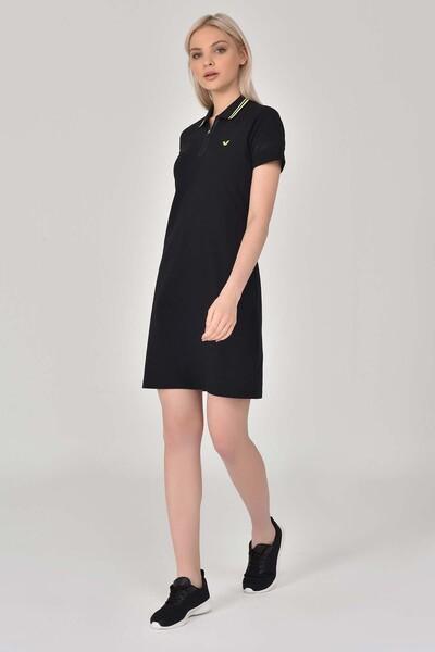 BİLCEE - Bilcee Siyah Kadın Elbise GS-8027 (1)