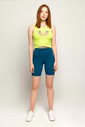 Bilcee Sarı Kadın Atlet FS-8062 - Thumbnail