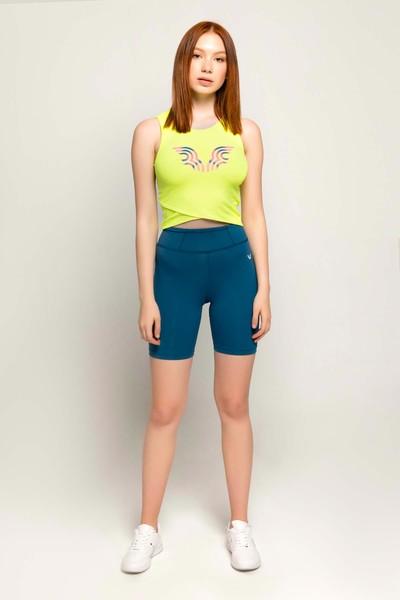 BİLCEE - Bilcee Sarı Kadın Atlet FS-8062 (1)