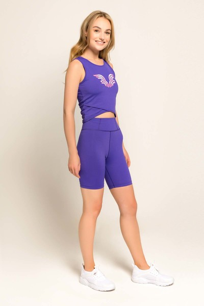 BİLCEE - Bilcee Mor Kadın Atlet FS-8062 (1)