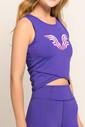 Bilcee Mor Kadın Atlet FS-8062 - Thumbnail