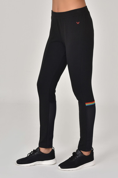 BİLCEE - Bilcee Siyah Kadın Pantolon GS-8095 (1)