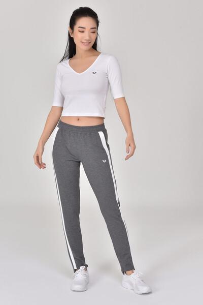 - Bilcee Beyaz Kadın Yoga T-Shırt GS-8105 (1)
