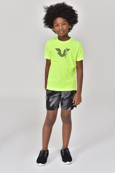 BİLCEE - Bilcee Siyah Erkek Çocuk Şort GS-8140 (1)
