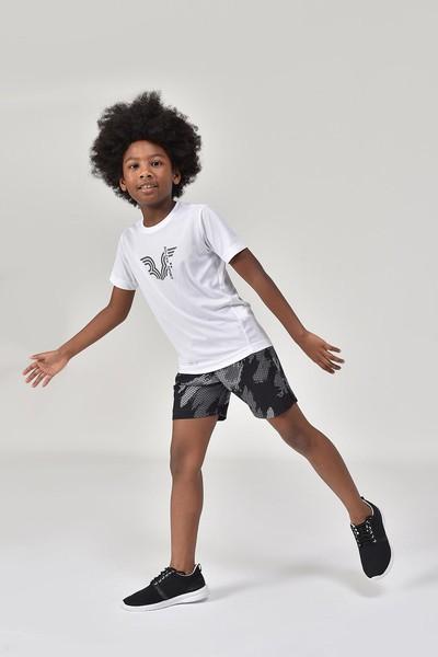 BİLCEE - Bilcee Beyaz Erkek Çocuk T-Shirt GS-8143 (1)