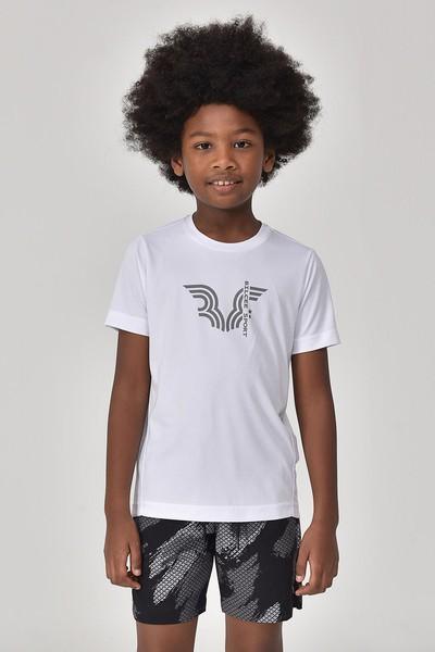 BİLCEE - Bilcee Beyaz Erkek Çocuk T-Shirt GS-8143