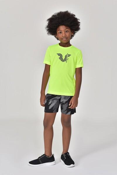 BİLCEE - Bilcee A.Yeşil Erkek Çocuk T-Shirt GS-8143 (1)
