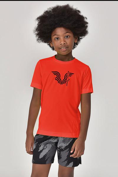 BİLCEE - Bilcee Kırmızı Erkek Çocuk T-Shirt GS-8143