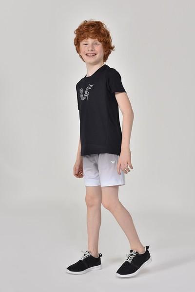 BİLCEE - Bilcee Siyah Erkek Çocuk T-Shirt GS-8143 (1)