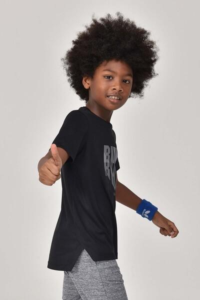 BİLCEE - Bilcee Siyah Erkek Çocuk T-Shirt GS-8144 (1)