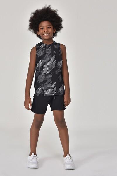 BİLCEE - Bilcee Siyah Erkek Çocuk Atlet GS-8148 (1)