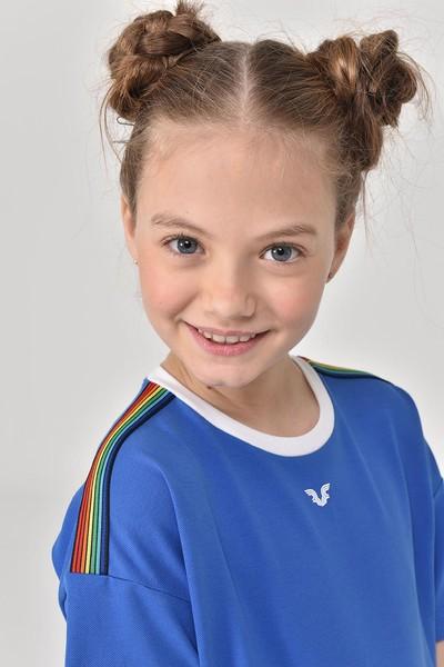 BİLCEE - Bilcee Kız Çocuk Elbise GS-8152 (1)