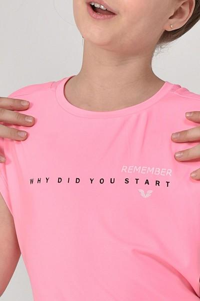 BİLCEE - Bilcee Kız Çocuk T-Shirt GS-8158 (1)