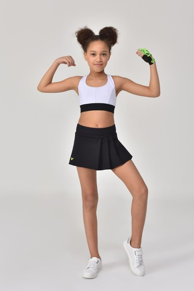 BİLCEE - Bilcee Beyaz Kız Çocuk Sporcu Sütyeni GS-8160