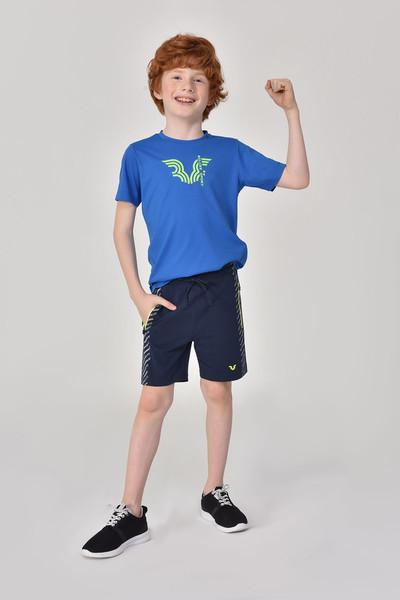 BİLCEE - Bilcee Lacivert Erkek Çocuk Şort GS-8162 (1)