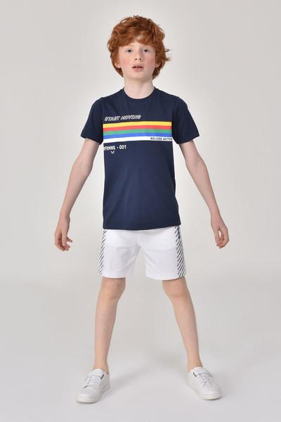 BİLCEE - Bilcee Beyaz Erkek Çocuk Şort GS-8162 (1)