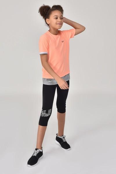 BİLCEE - Bilcee Kız Çocuk T-Shirt GS-8163 (1)