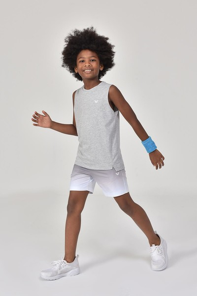BİLCEE - Bilcee Gri Erkek Çocuk Atlet GS-8164 (1)