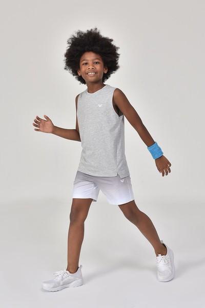 BİLCEE - Bilcee Gri Erkek Çocuk Atlet GS-8164