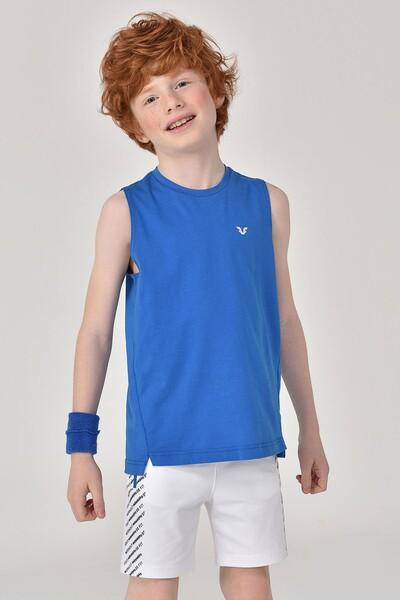 BİLCEE - Bilcee Mavi Erkek Çocuk Atlet GS-8164 (1)