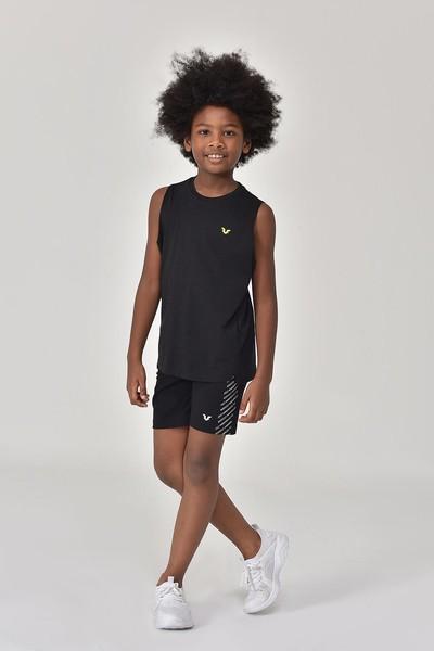 BİLCEE - Bilcee Siyah Erkek Çocuk Atlet GS-8164 (1)